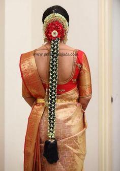 Pellipoolajada Telugu brides inspiration gallery   Pelli Poola Jada