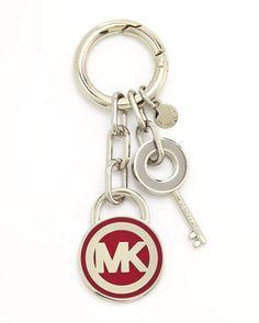 MICHAEL Michael Kors Lock & Key Fob - Michael Kors