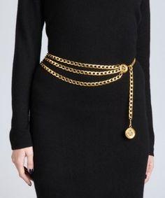 Women/'s Lady Fashion Multi Functional Metal Chain Gold Style Belt Body Chain UK