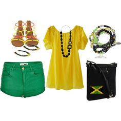 Outfit inspired by Jamaica