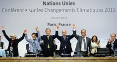 At COP 21 in Paris, on 12 December Parties to the UNFCCC reached a landmark agreement to combat climate change and to accelerate and intensify the.