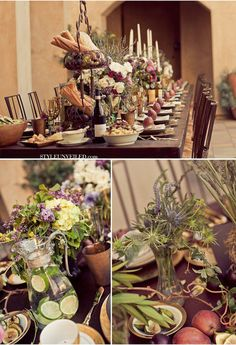 centerpieces wedding decorations it s all in the details tuscan wedding 2532