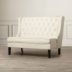 """You'll love the Banquette 52"""" Tufted Settee at Joss & Main - With Great Deals on all products and Free Shipping on most stuff, even the big stuff."""