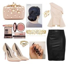 """Untitled #196"" by karla-mouque on Polyvore featuring Sophia Webster, C/MEO COLLECTIVE, Elie Saab, Effy Jewelry, Soo Ihn Kim, Kendra Scott and Charlotte Tilbury"