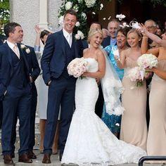Decoração de Casamento : Paleta de Cores Azul Marinho e Nude