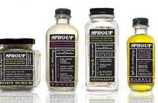 Blackboard Bottle Branding