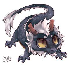 comission baby dragon  by *suikuzu