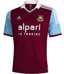fb539b756 West Ham home shirt 2013 14 — Classic and modern Soccer Kits