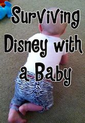 Tips for taking a trip to Walt Disney World with an infant, including stroller tips, baby care center information, and more.