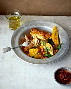 Bill Granger recipe: Chicken, fennel and courgette tagine - The Independent