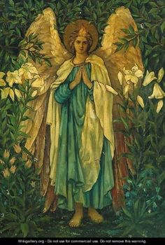 Archangel Gabriel - (after) Sir Edward Coley Burne-Jones