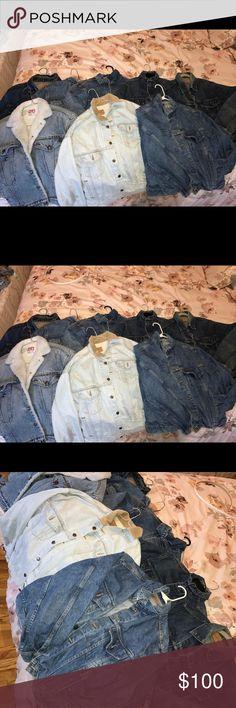 Vintage Levi jean jackets !! New arrivals !! Vintage Levi jean jackets !! New arrivals !!! Levi's Jackets & Coats Jean Jackets