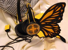 Rin And Len Kagamine Cosplay | Vocaloid MAGNET Headphones for Rin or Len Kagamine by toppledcards