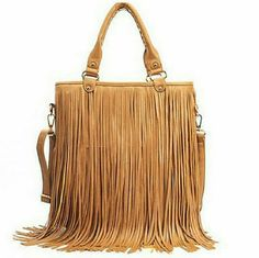 Fringe Crossbody Bag is super cute, brand new, gold accents, faux leather, neutral tan, two separate straps to wear as cross body or shoulder bag coastal scents Bags Shoulder Bags