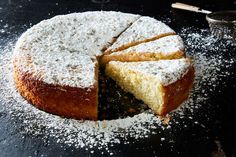 Diana Henry's Lemon & Lavender Cake from Food52 -- a friend of mine substitutes rosemary for the lavender in this cake, and highly recommends it!
