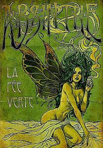 Absinthe La Fee Verte, The Green Fairy Absinthe Alphonse Mucha, Art And Illustration, Retro Poster, Vintage Posters, Fantasy Kunst, Fantasy Art, Green Fairy Absinthe, Culture Art, Art Nouveau Poster