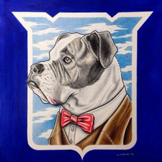 Custom pet portrait I did for a client in NY with #coloredpencils and #markers. Go check my Etsy store if you are interested in getting one!  https://www.etsy.com/listing/213502549/custom-pet-portrait-45-x-6-dog-cat-color  #customdrawing #petdrawing #customart #dog #drawing #art #bulldog