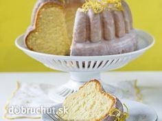 lemon yogurt bundt cake | Svieža jogurtovo-citrónová bábovka