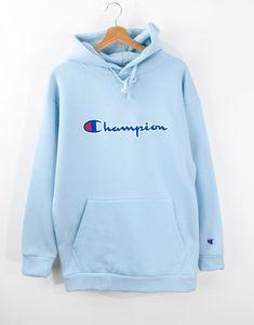 Champion Oversize Kapşonlu Erkek Hoodie MD9869MV Hoodies, Sweatshirts, Sunglasses, Sweaters, Men, Fashion, Blue Nails, Girls, Clothing