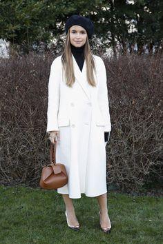 Miroslava Duma at Christian Dior's Spring 2016 Couture Fashion Show
