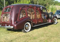 Cadillac La Salle Carved Side Hearse