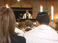 Reform Judaism - Wikipedia, the free encyclopedia Picture: A Reform synagogue with mixed seating and equal participation of men and women
