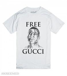 """Free Gucci"" Gucci Mane""s Fan Tee"