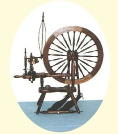 Jensen Ashley spinning wheel