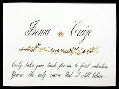 Monica's calligraphy 5