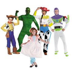 Toy Story Group Costumes - OrientalTrading.com