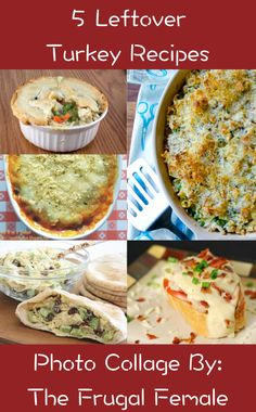 5 Recipes For Left Over Thanksgiving Turkey