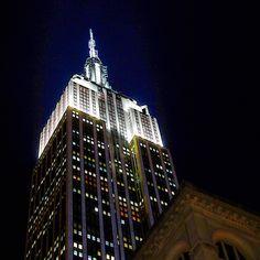 Empire State Building by @EricEDunn | newyork newyorkcity newyorkcityfeelings nyc brooklyn queens the bronx staten island manhattan