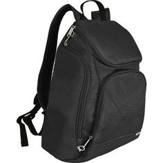 Travelon Anti-Theft Classic Backpack 3 Colors Travel Backpack NEW Backpack Outfit, Black Backpack, Leather Backpack, Backpack Straps, Sling Backpack, Travel Luggage, Travel Backpack, Water Bottle Backpack, Bunion Shoes
