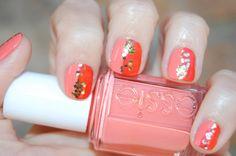 colorblock manicure