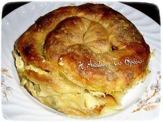 Κολοκυθοτυρόπιτα με δυόσμο Bagel, Apple Pie, Pancakes, Bread, Breakfast, Desserts, Food, Tarts, Morning Coffee