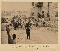 Kaiser Wilhelm II in Jerusalem 1898