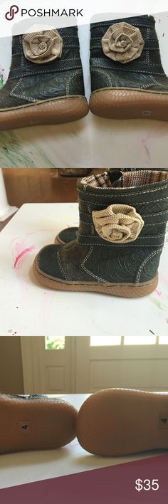 Livie & Luca boots baby size 4 NWOT. Never worn bought them a season ahead and my daughters feet grew too much . livie&luca Shoes Boots
