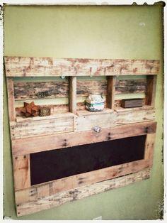 Pallet Wood FoldOut Desk von WorkmansPalette auf Etsy