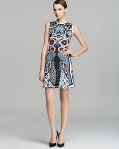 Clover Canyon Dress - Cuban Tile Neoprene | Bloomingdale's