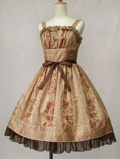 This Victorian Maiden dress is so incredibly pretty!