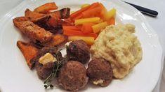 Huvilaelämää ja mökkiruokaa: Fetatäytteiset lammaspyörykät kahdella tapaa