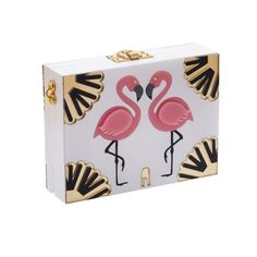 Welcome to the Jungle where pink flamingos dance to a swing rhythm, parrots fall in love, golden lions dare you to a staring competitio. White Clutch Bags, Welcome To The Jungle, Pink Flamingos, Ss 15, Other Accessories, Golden Lions, Blog, Shopping, White Clutch Purse