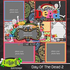 Day of The Dead Quickpage 2