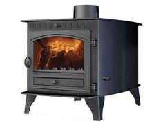 Hunter Herald 8 double sided multi fuel stove