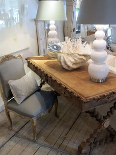 """Lisa Luby Ryan -  Love the table and accessories..Lisa's store is located in Dallas and is called """"Vintage Living"""""""