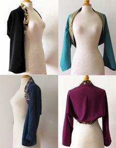 Kimono shrug personnalized on demand de la boutique yinco sur Etsy