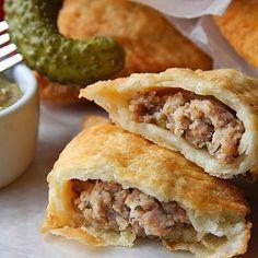Tastiest half-moon, Louisiana-style, fried pork pies you've ever had.