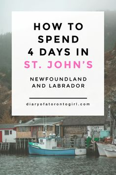 Newfoundland is full of incredible landscapes and views. Here's a look at my Newfoundland road trip itinerary, all about how to spend 4 days in St. Toronto, Travel Guides, Travel Tips, Travel Destinations, Solo Travel, Budget Travel, Atlantic Canada, Newfoundland And Labrador, Canada Travel