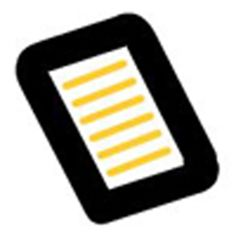 Icono de Libros electrónicos en línea Tech Companies, Company Logo, Logos, Texts, Digital Papers, Textbook, E Online, Learning, Reading