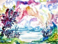 Rainbow landscape  #irreal #surreal #phantasialand #phantasy #fantasy #fantasyland #fantasyart #landscape #rainbowcolors #colorfullart #colorful #watercolor #watercolour #watercolors #watercolours #instaart #art #paintings Watercolours, Art Paintings, Rainbow Colors, Insta Art, Surrealism, Fantasy Art, Colorful, Landscape, Artwork